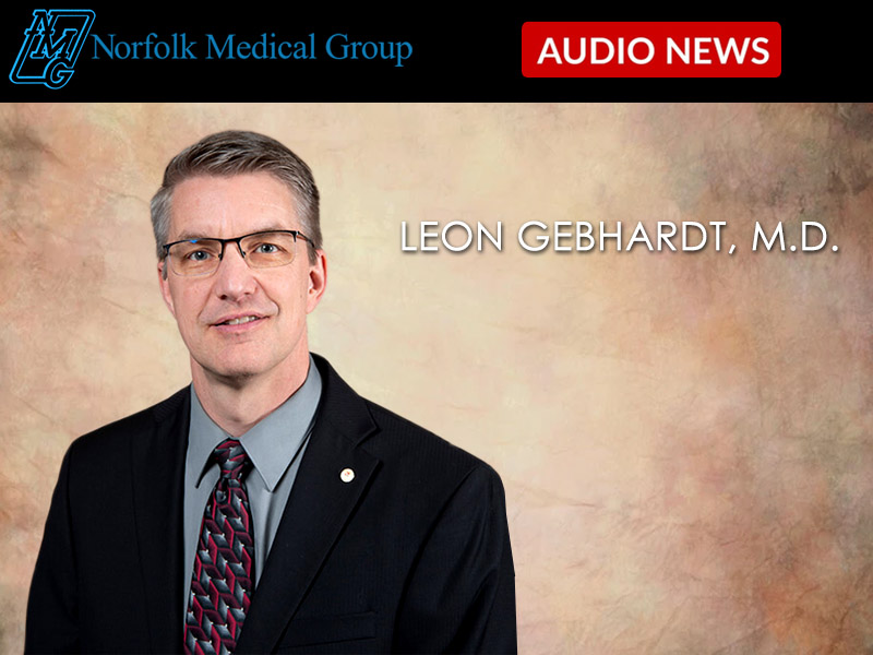 Leon Gebhardt, M.D. on Routine Well-Child Visits, Appointments, and  Immunizations